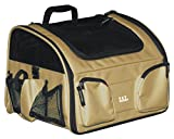 Pet Gear Bike Basket 3-in-1 Car Seat / Carrier / Bike Basket for Cats and Small Dogs, 16-inches, Tan