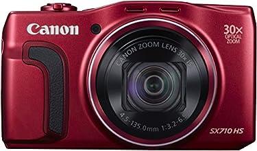 """Canon PowerShot SX710 HS Appareil photo numérique compact 20,3 Mpix Écran LCD 3"""" Zoom optique 30X Rouge"""