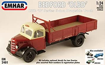 Emhar - Bedford 'O' Series Long Wheel Base Dropside Truck/Flatbed - EM2401