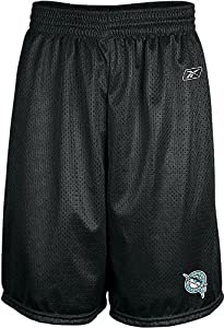 Florida Marlins MLB 9 Inseam Black Center Field Mesh Baseball Shorts By Reebok by Reebok