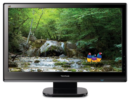 ViewSonic VX2453MH-LED 24 inch LED Wide Screen Monitor - (VGA, HDMI, 1920 x 1080, 16:9, 5m/s, 1,000:1/30,000,000:1, 300 cd/m, Built in Speakers)