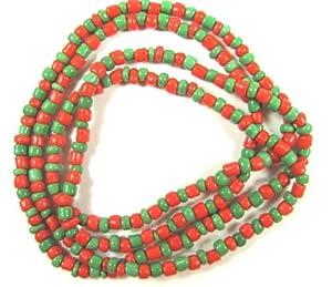 Collares de Cuentas Santeria Orisha Eleke Elekes Collar, EK-124 - San
