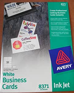 Avery Template Business Cards 8371