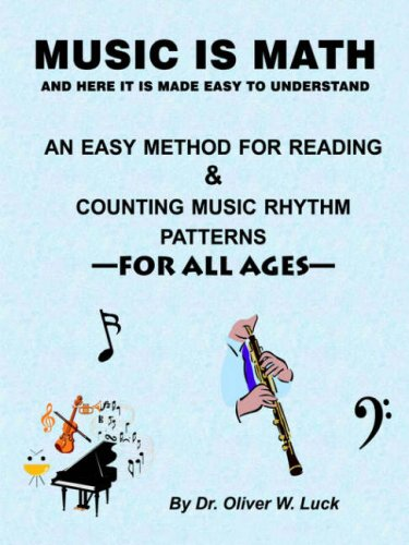 Music is Math: An Easy Method for Reading & Counting Music Rhythm Patterns