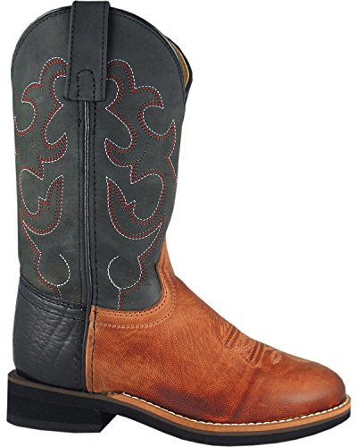 Smoky Mountain Boys' Seminole Western Boot Round Toe Bomber US