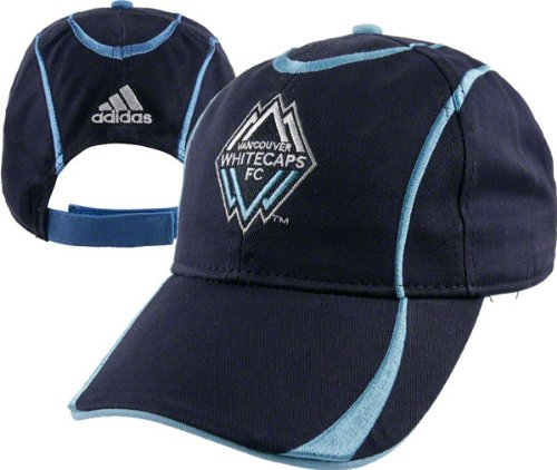 Vancouver Whitecaps Youth adidas Soccer Team Logo Adjustable Hat