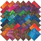 Moda Charm Pack Tropical Punch Batiks Fabric Squares