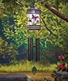 Solar Lighted Butterfly Wind Chime Lanterns