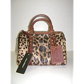 Dolce & Gabbana Handbags Cheetah Print Leather BB2209