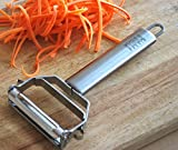 ★ NEW ★ Ultra Sharp Dual Julienne Peeler & Vegetable Peeler - ITALI PASSIO - Special Promotional Offer / Sale Today Only!