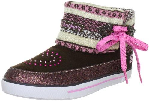 Skechers StreetsmartsBoots Girls Brown Braun (CHPK) Size: 35