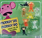 MONKEY SEE MONKEY DO FIGURINE DISPLAY (8 items in display)