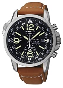 Seiko Gents Solar Powered Chronograph Watch SSC081P1