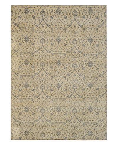 Kalaty One-of-a-Kind Pak Rug, Ivory, 10' 2 x 13' 11