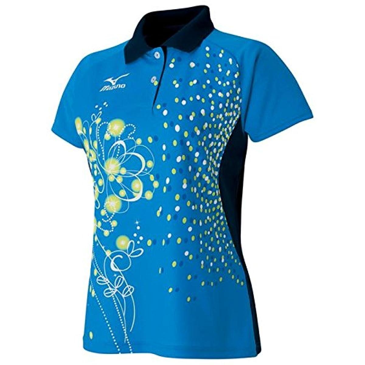 [해외] 미즈노(MIZUNO) 탁구 women's 게임 셔츠 (WOMENS) 82JA6802-