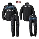 ATHLETA(アスレタ) 中綿ウォーマージャケット+パンツセット 04096+04097 (BLK(ブラック), L)