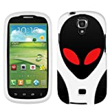 Samsung Galaxy Stratosphere II UFO Alien Ghost On White Cover Case