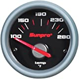 "Sunpro CP7005 Sport ST 2"" Electrical Water/Oil Temperature Gauge Kit"