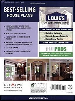 Lowe 39 s best selling house plans home plans editors of for Top selling house plans