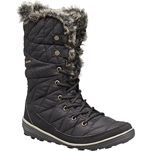 Columbia Heavenly Omni-Heat Boot - Women's Black/Kettle, 7.5 (Columbia Shoes Women Winter compare prices)