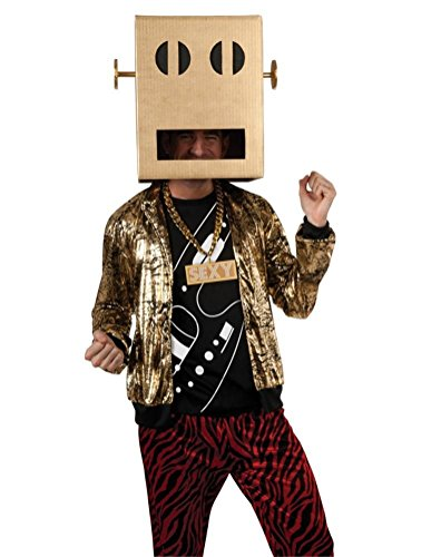 POPLife LMFAO Robot Pete Shuffle Bot Party Rock Anthem Costume (Lmfao Robot compare prices)