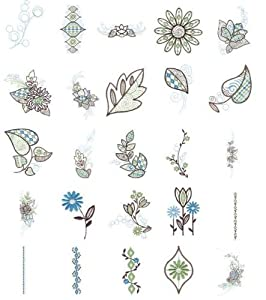 Oesd Embroidery Machine Designs Cd Fashion Petals from OESD