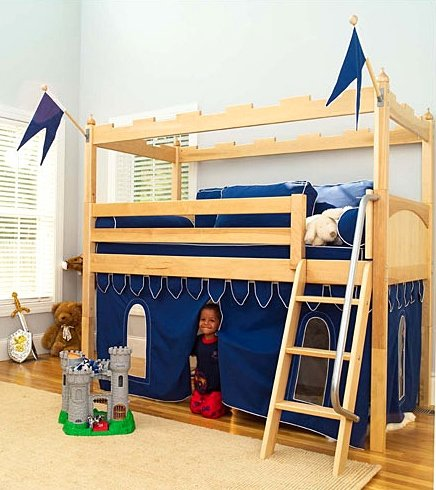 Funk N Awesomeness With A Castle Tent Loft Bed