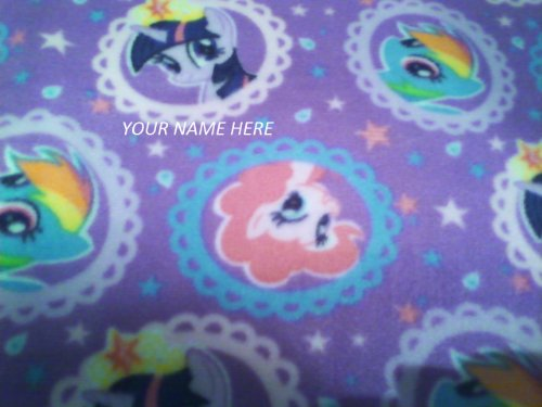 My Little Pony Fleece Choose Blankets, Pillows And/ Or Nap Mats