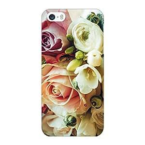Jugaaduu Roses Back Cover Case For Apple iPhone 5c