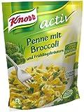 Knorr activ Penne mit Broccoli und Frühlingskräutern, 5 x 2 Portionen (5 x 146 g)
