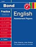 Bond English Assessment Papers 6-7 years(Bond Assessment Papers) Sarah Lindsay