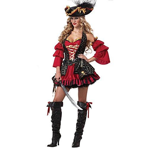 [LightInTheBox Costumes Movie & TV Theme Costumes Halloween Red Patchwork Terylene Dress for Women] (Halloween Costume Ideas 80s Movies)