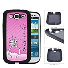 buy Pink Bride To Be Wallpaper With Wedding Ring Samsung Galaxy S3 I9300 Rubber Silicone Tpu Cell Phone Case