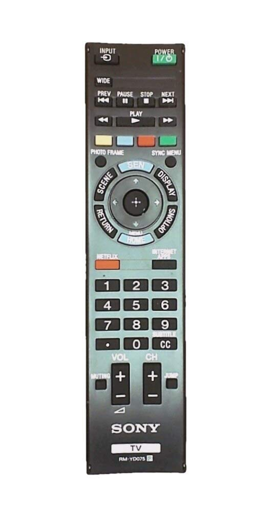 Sony RM-YD092 Factory Original Replacement Smart TV Remote Control for All LCD LED Bravia TV (1-487-713-11)