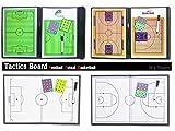 (M's sports)エムズスポーツ サッカー フットサル バスケット ボール 作戦盤 タクティック ボード 折りたたみ 指導用 コーチング ホワイト ボード 《選べる4種類》