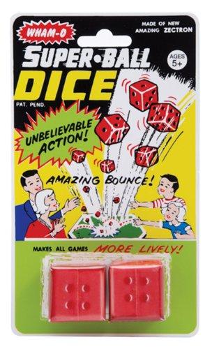 Vintage Superball Dice