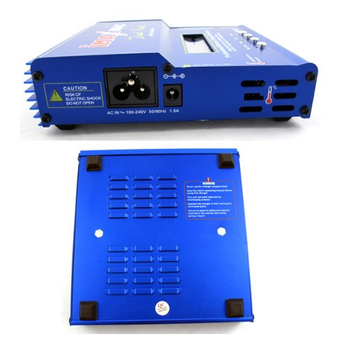 iMax Battery Charger Balancing Charger Battery Model Imax B6-AC Bright Blue