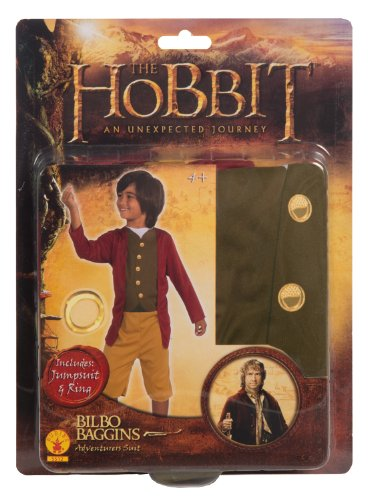The Hobbit Bilbo Baggins Adventurers Suit Set, Multicolored
