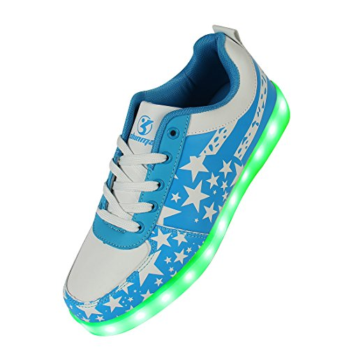 Shinmax-LED-Shoes-LED-Sneakers-Shoes-USA-Flag-Series-LED-Shoes-Unisex-Light-Up-Shoes-Flashing-Sneakers-of-Unisex-Men-and-Women-for-Valentines-Day-Christmas-Halloween-with-CE-Certificate