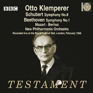 Schubert: Sinfonie Nr.8 / Beethoven: Sinfonie Nr.1 / Berlioz: Romeo et Juliette Op.17 / Mozart: Maurerische Trauermusik KV477