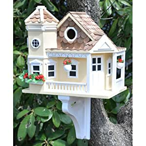 A Delightful And Decorative Cottage Style Bird House Home