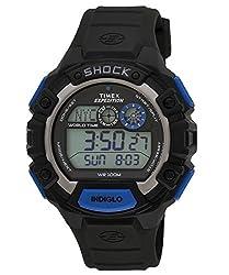 Timex Shock Digital Black Dial Mens Watch - TW4B004006S