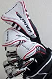 TaylorMade Mens Complete Golf Club Set Driver, Fairway Wood, Hybrid, Irons, Putter, Stand Bag Taylor Made RH Regular Flex Clubs