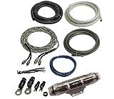 Lightning Audio by Rockford Fosgate 4 Gauge Ga Awg Amplifier Installation Wiring Amp Install Kit
