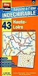 Haute-Loire (43). Carte D�partemental...