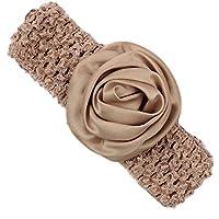 Pikaboo Rose Crochet Baby Headband(Beige)