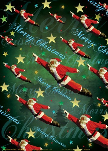 christmas-poster-wrapping-paper
