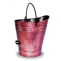 ACHLA Designs Antique Copper Pellet Bucket