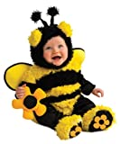 Rubie s Costume Noah s Ark Buzzy Bee Romper Costume, Yellow, Newborn