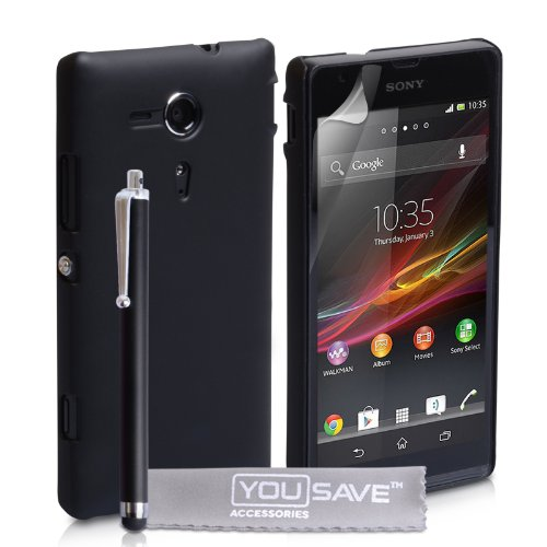 sony-xperia-sp-case-black-hard-hybrid-cover-with-stylus-pen